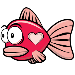 Heart Fish from Feather Feud