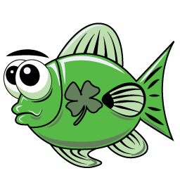 Clover Fish from Feather Feud