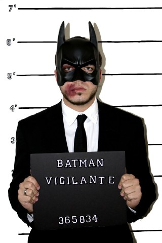 Detained Heros 1 - Batman