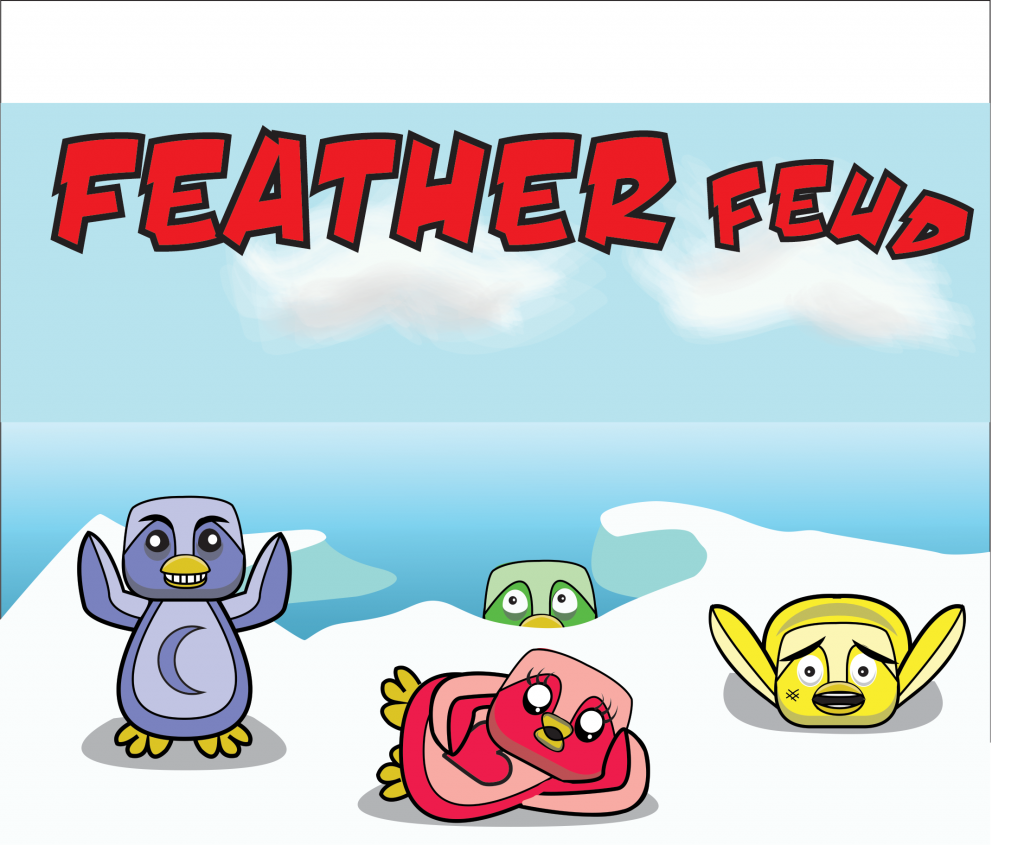 Feather Feud Main Menu