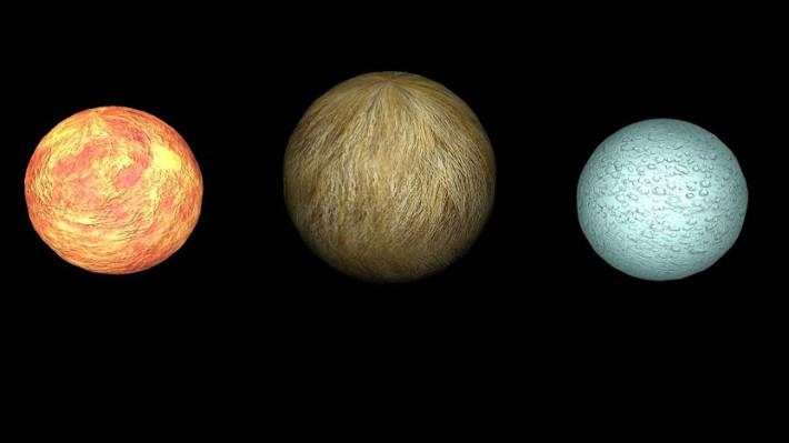 Material Spheres