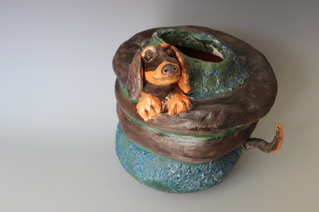 Dachshund Pot